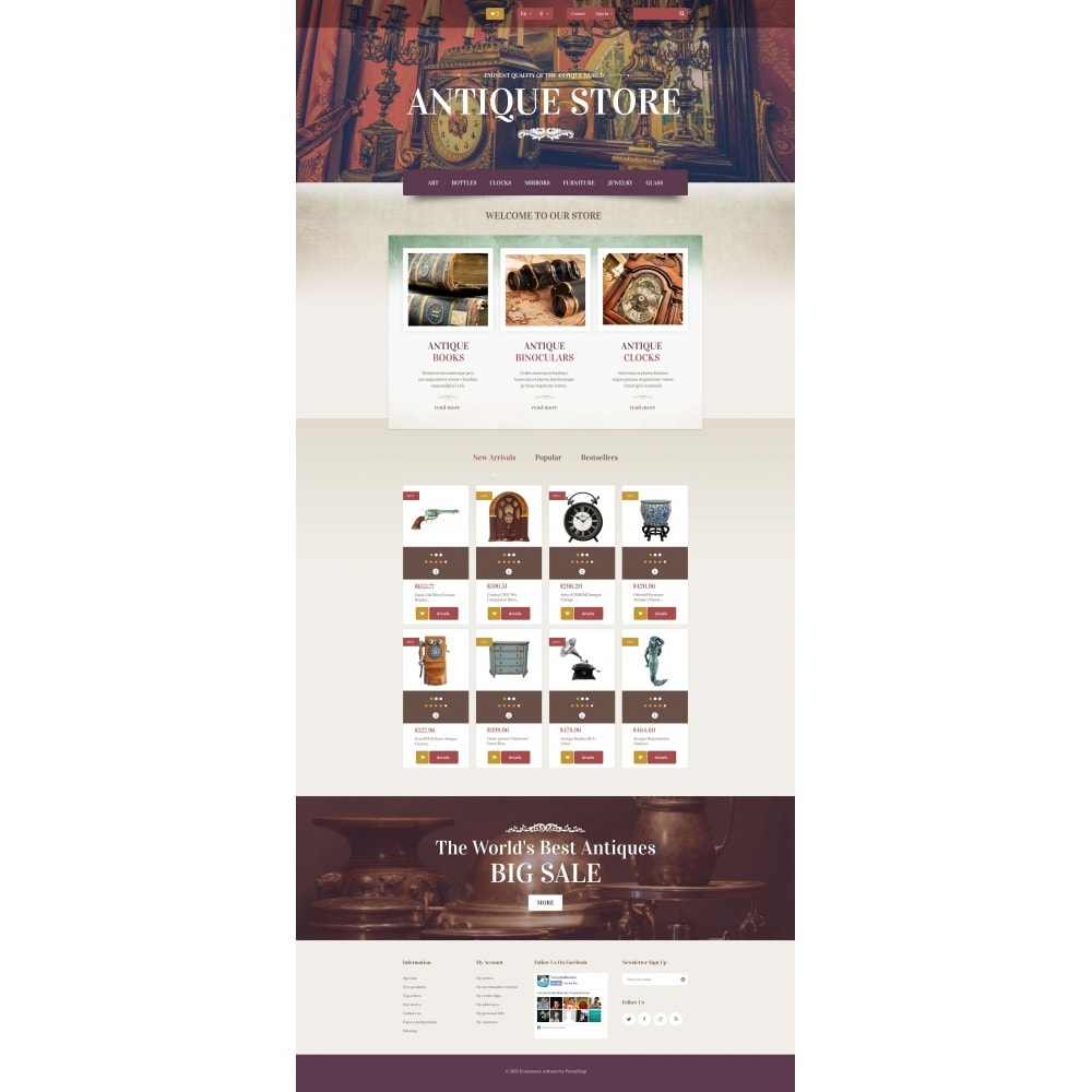 theme - Casa & Giardino - Antique Store - 4