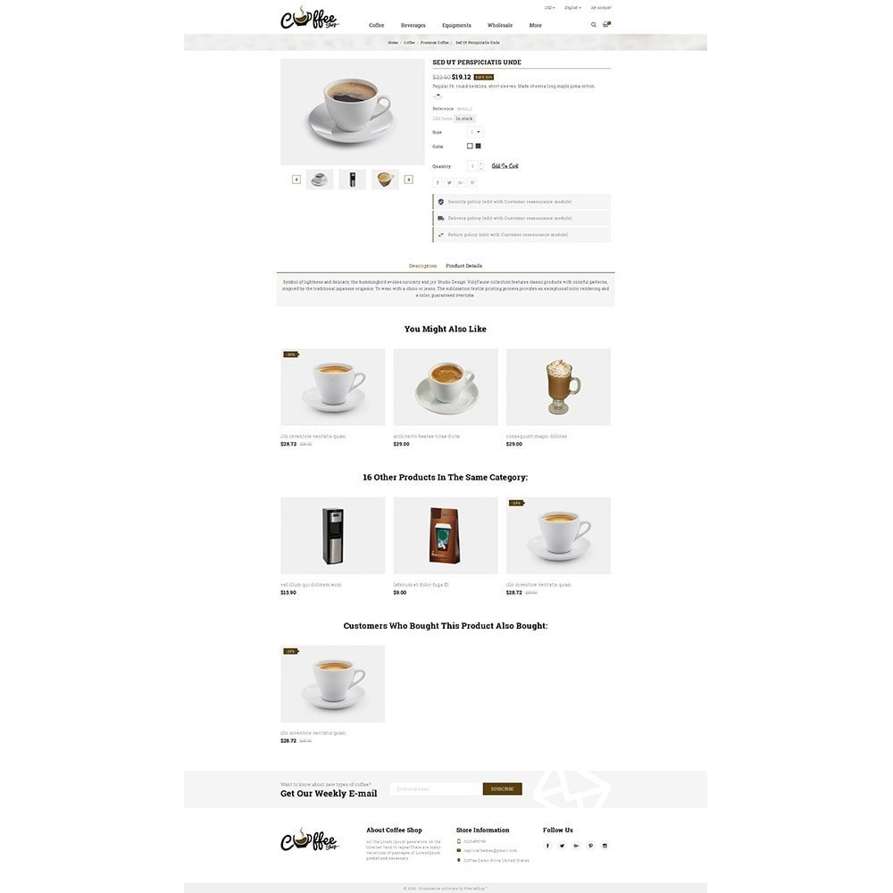 theme - Напитки и с сигареты - Coffee Shop - 5