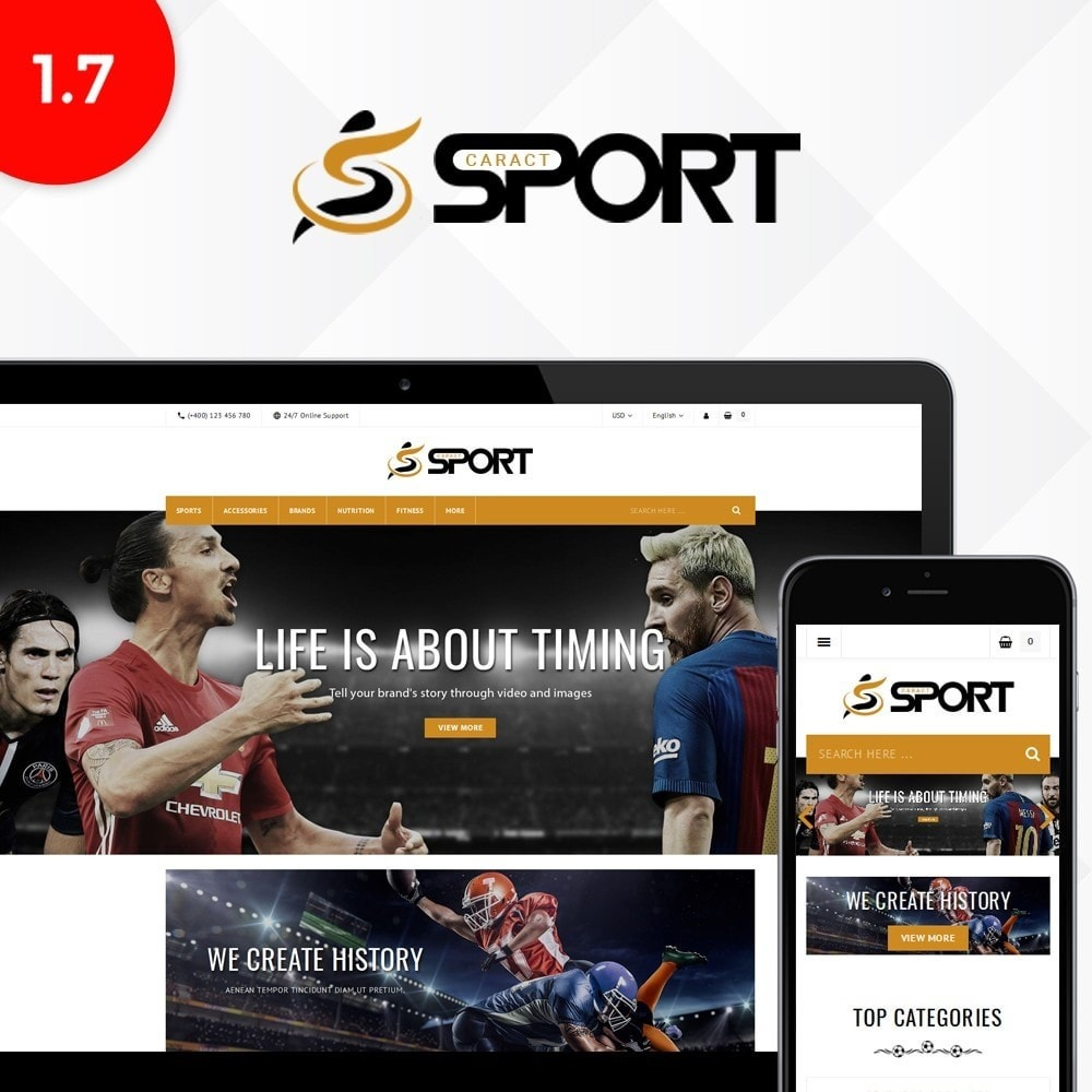 theme - Sports, Activities & Travel - Sport Store - 1
