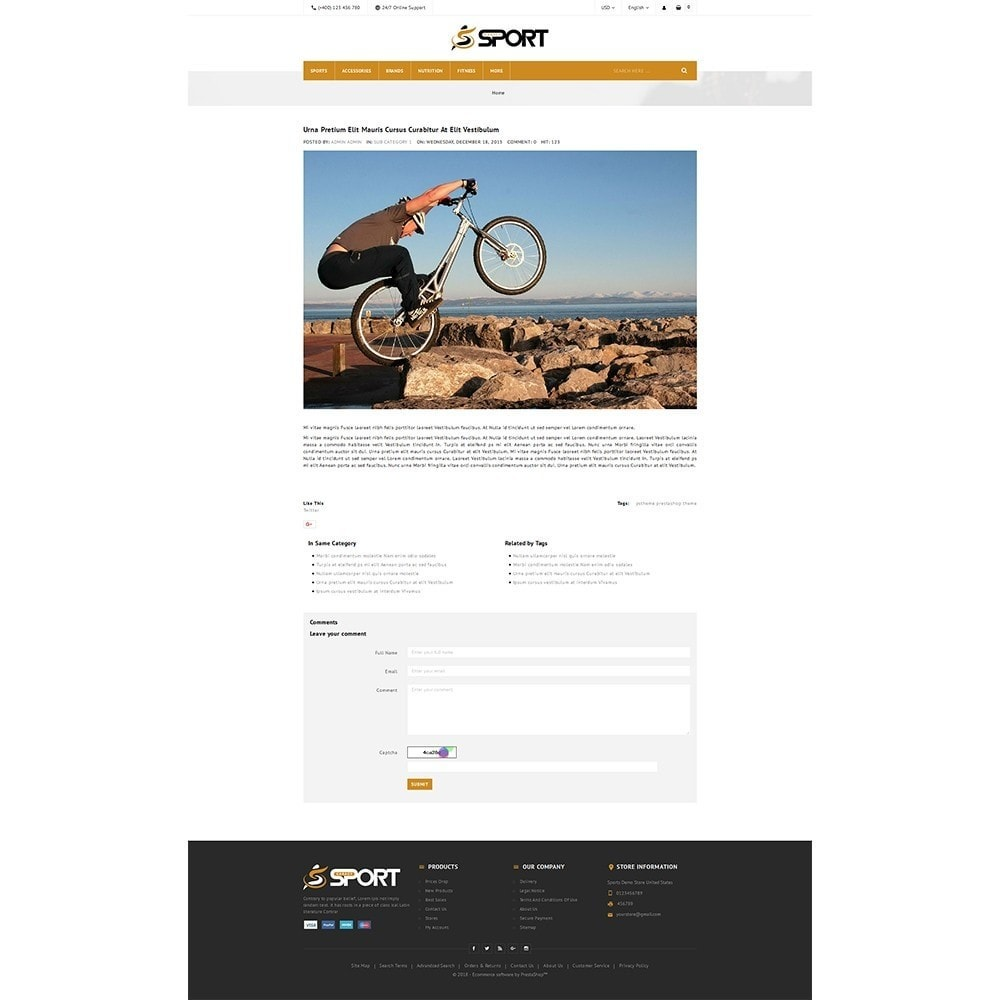 theme - Sports, Activities & Travel - Sport Store - 6