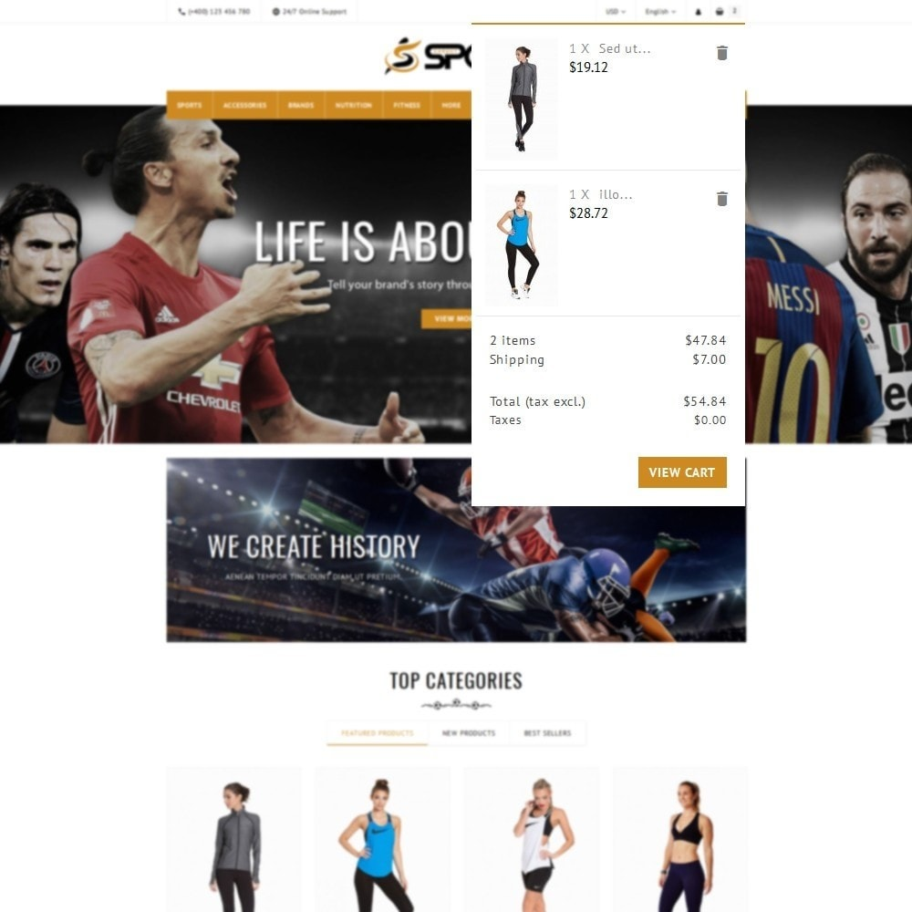 theme - Sports, Activities & Travel - Sport Store - 8