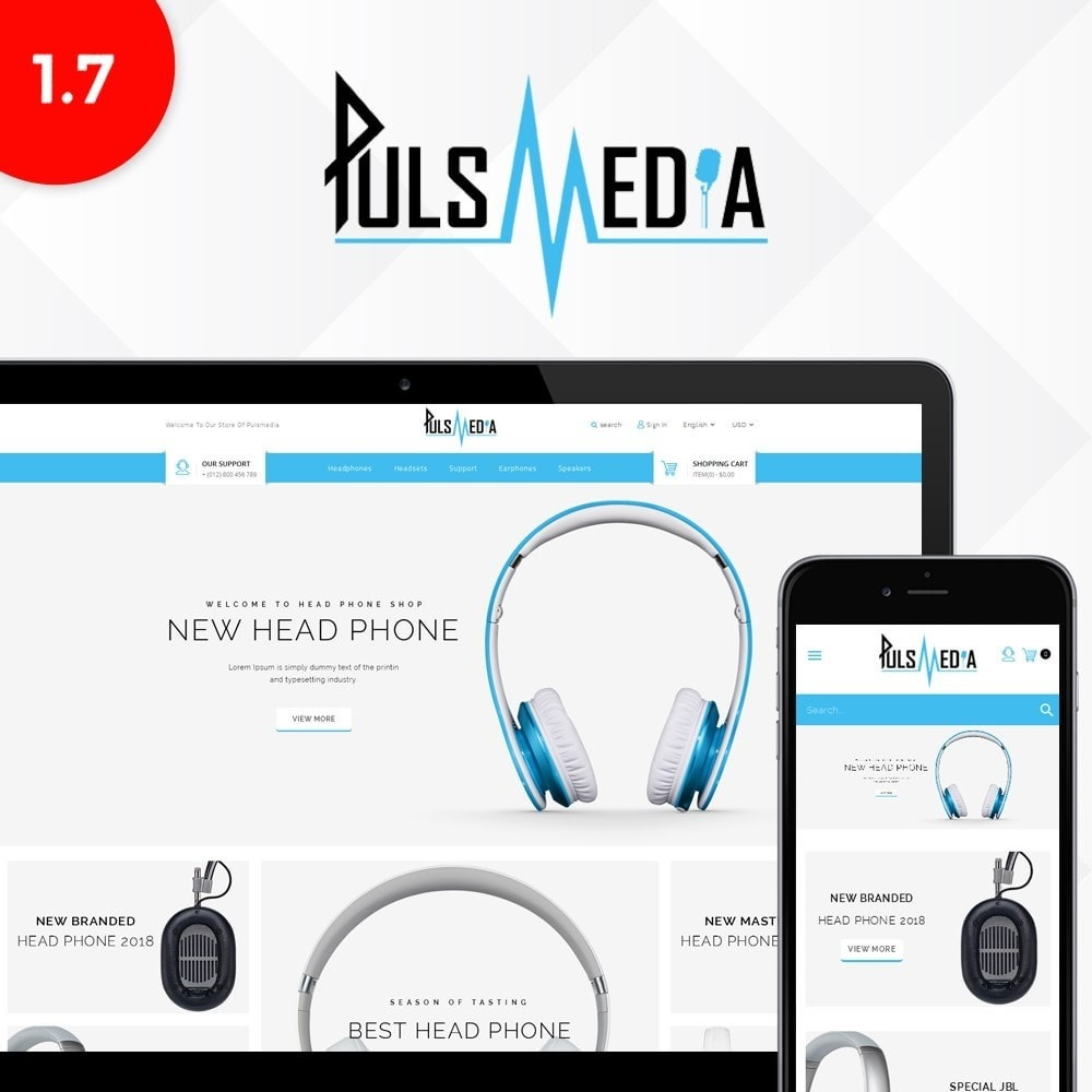 theme - Electronique & High Tech - Puls Media Store - 1