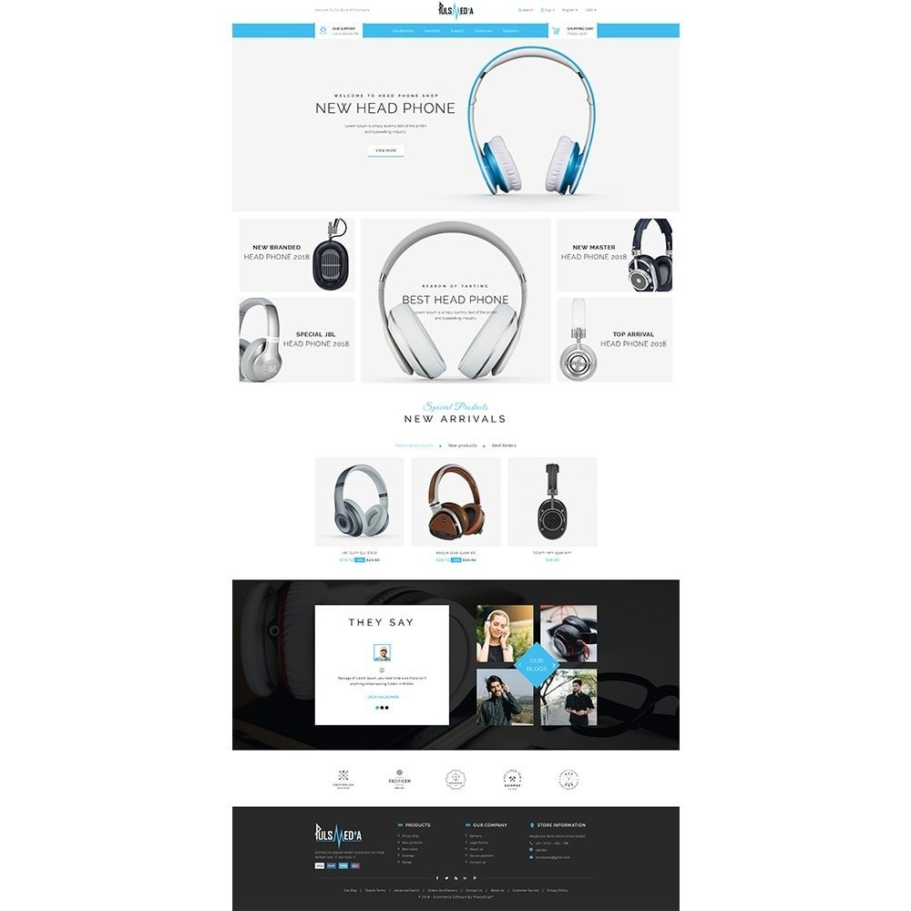 theme - Electronique & High Tech - Puls Media Store - 2