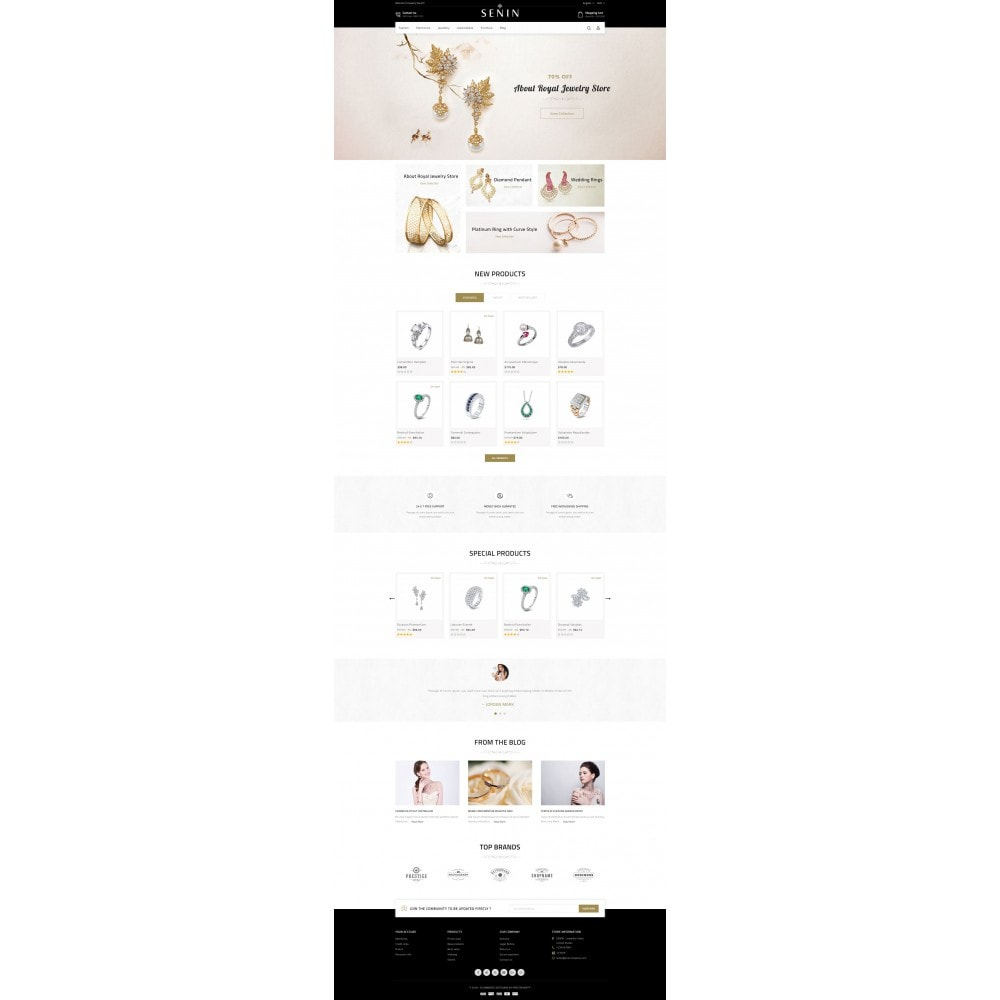 theme - Bellezza & Gioielli - SENIN - Jewelry Store - 2