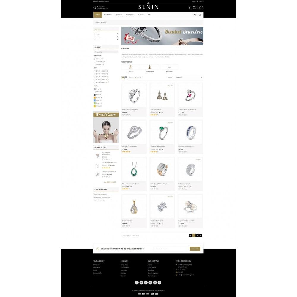theme - Bellezza & Gioielli - SENIN - Jewelry Store - 3