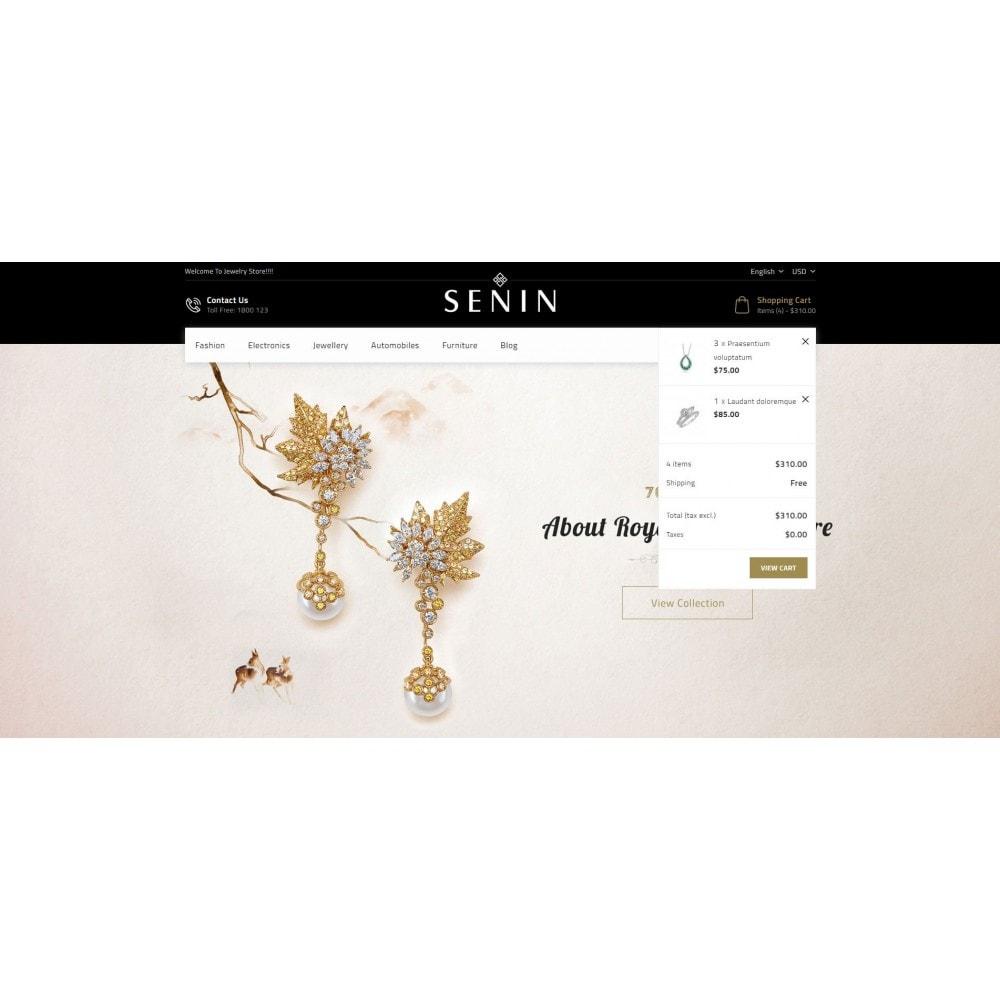 theme - Bellezza & Gioielli - SENIN - Jewelry Store - 8
