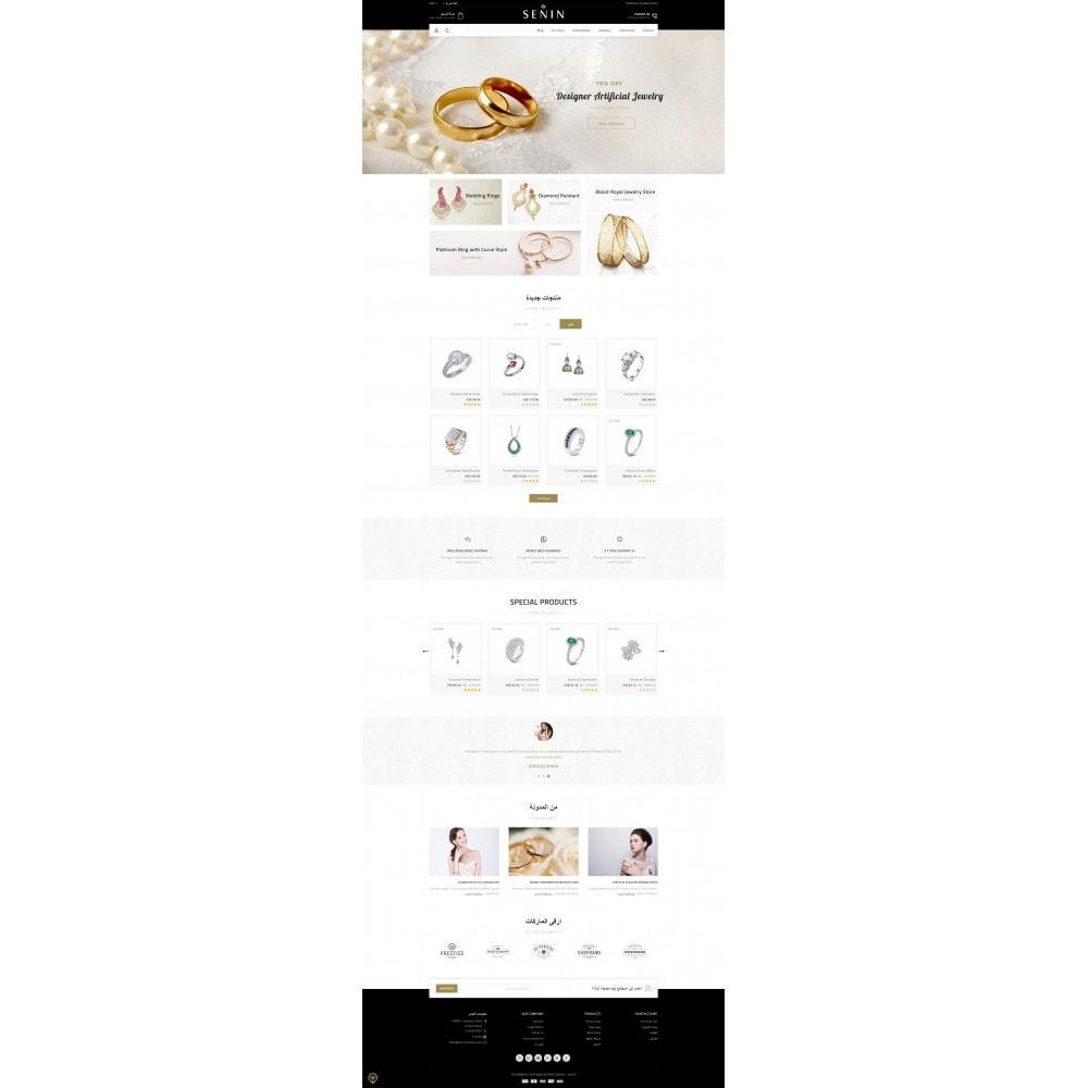 theme - Bellezza & Gioielli - SENIN - Jewelry Store - 10