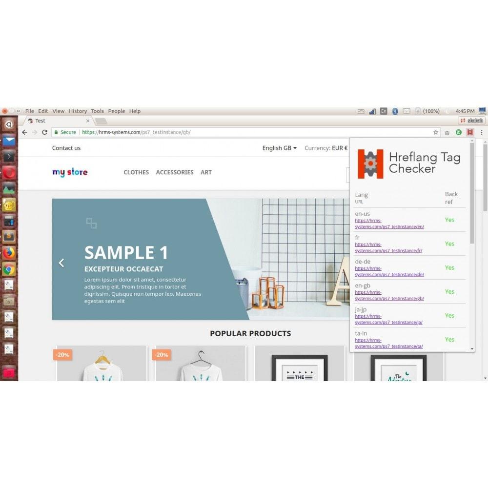 module - SEO (référencement naturel) - SEO Google Hreflang Tag for Multilingual Store - 4