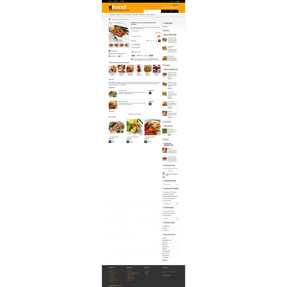 theme - Food & Restaurant - Online Orders of Meals - 6