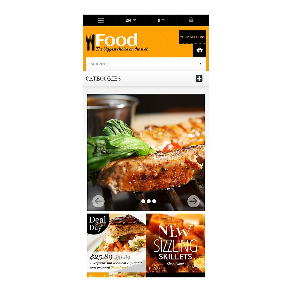 theme - Food & Restaurant - Online Orders of Meals - 8