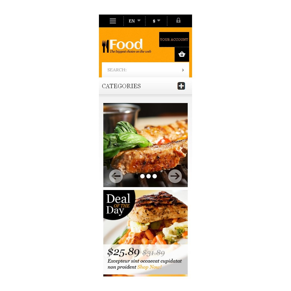 theme - Food & Restaurant - Online Orders of Meals - 9