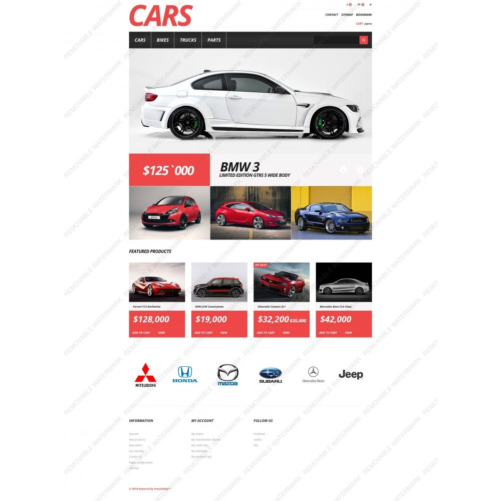 theme - Coches y Motos - Cars Store - 3