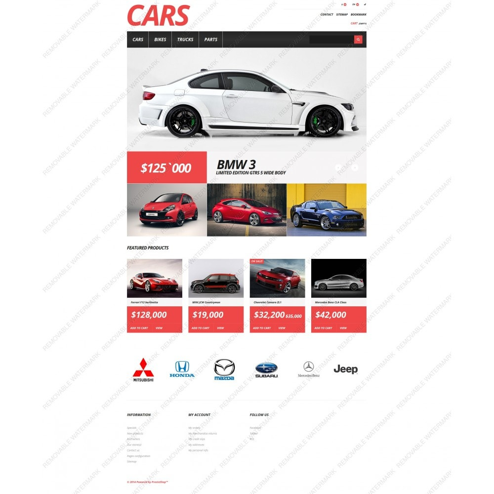 theme - Coches y Motos - Cars Store - 5