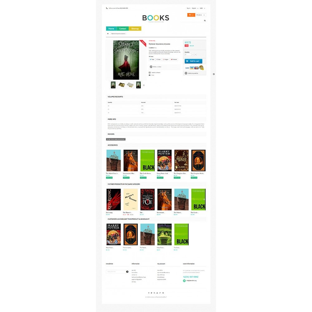 theme - Arte y Cultura - Online Bookstall - 6