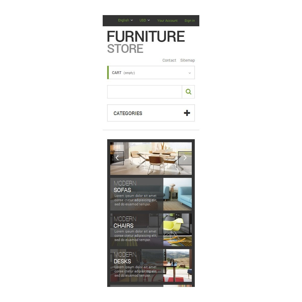 theme - Arte e Cultura - Interior  Furniture Store - 9