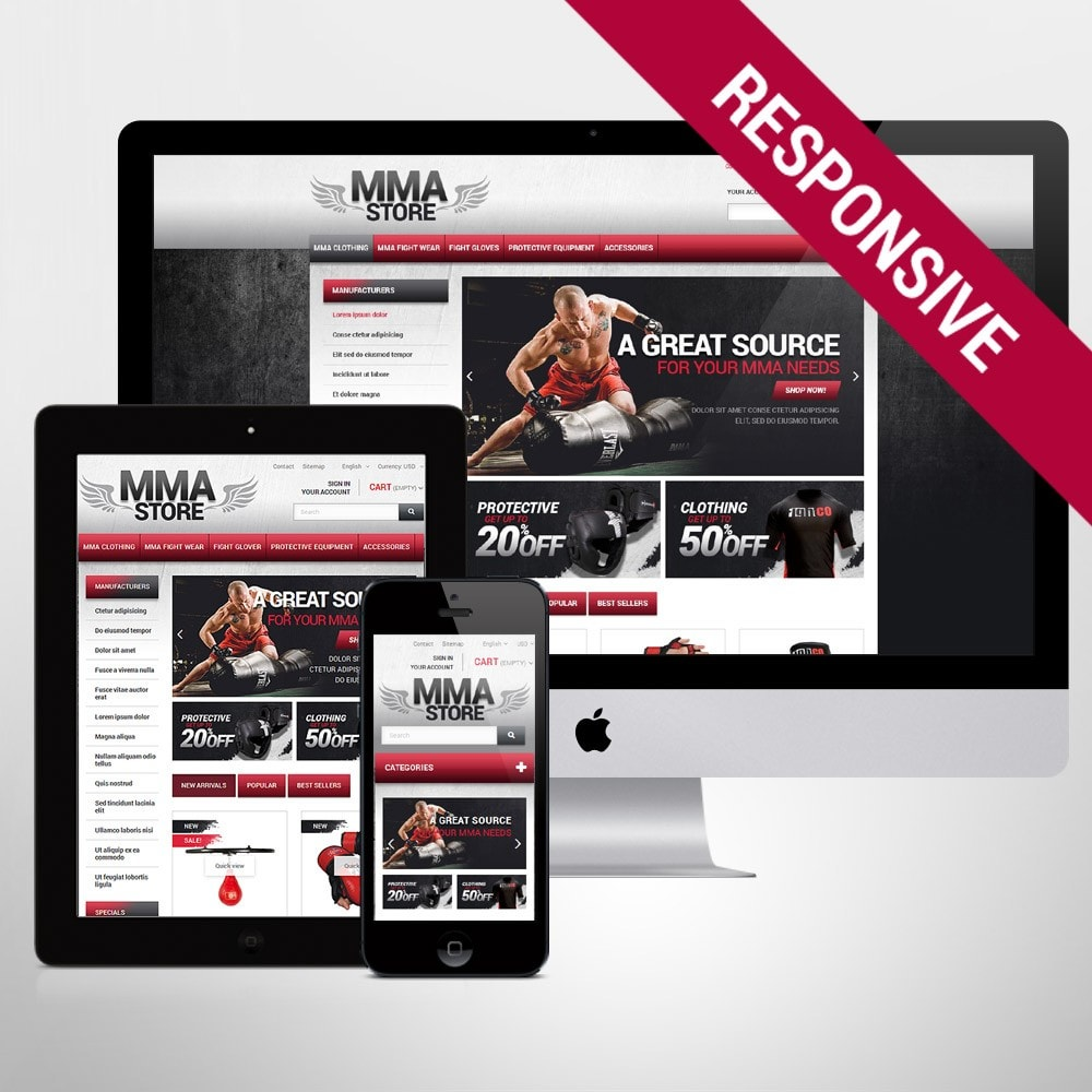 theme - Sport, Loisirs & Voyage - MMA Store - 1