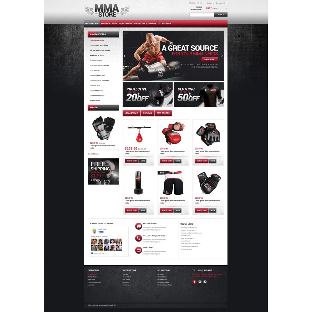 theme - Sport, Loisirs & Voyage - MMA Store - 4