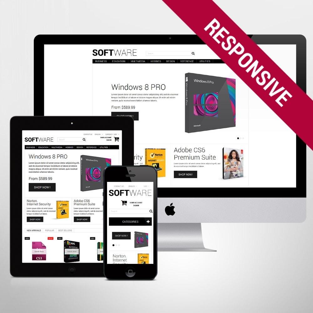 theme - Electrónica e High Tech - Software Shopping - 1