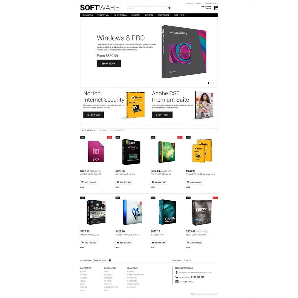 theme - Electrónica e High Tech - Software Shopping - 2