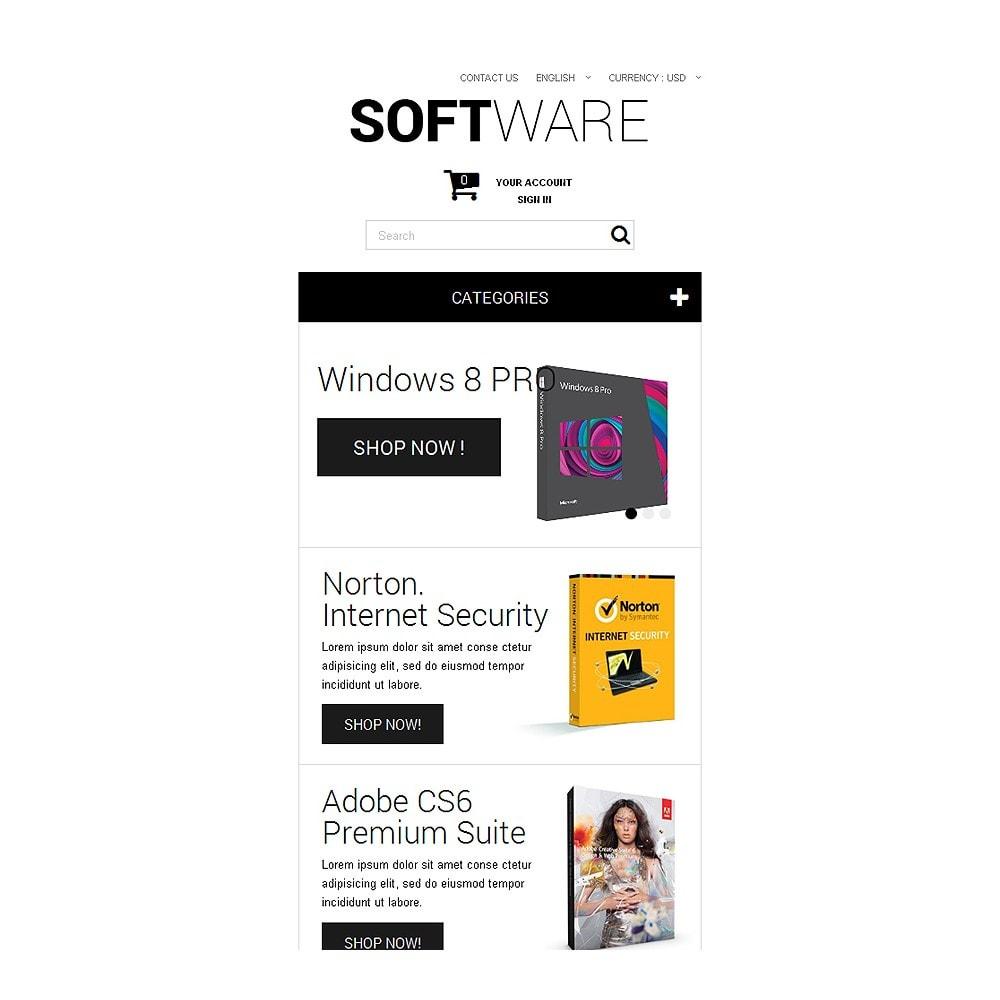 theme - Electrónica e High Tech - Software Shopping - 8