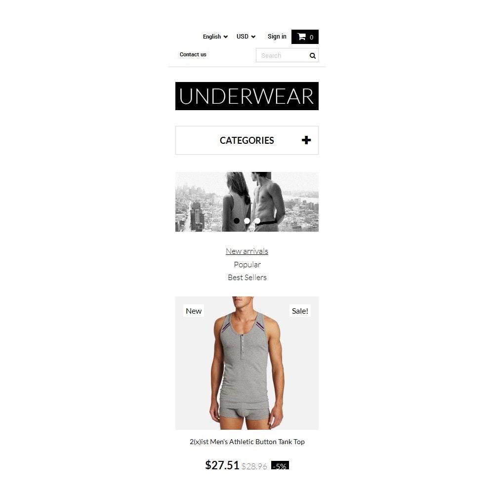 theme - Fashion & Shoes - Underwear for Men - 9