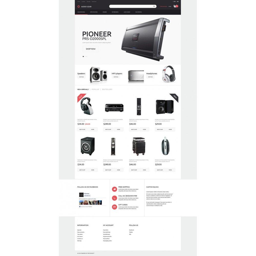 theme - Electronique & High Tech - Audiogear Shop - 2