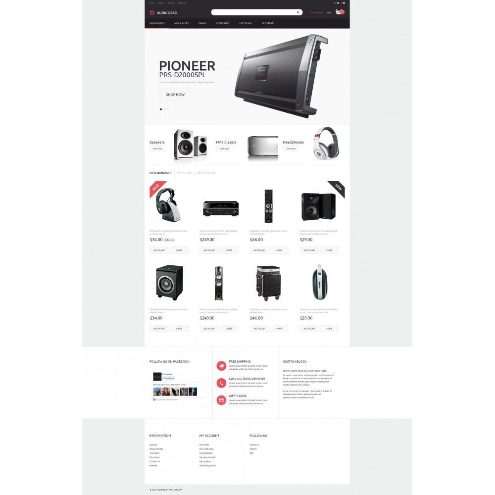 theme - Electronique & High Tech - Audiogear Shop - 4