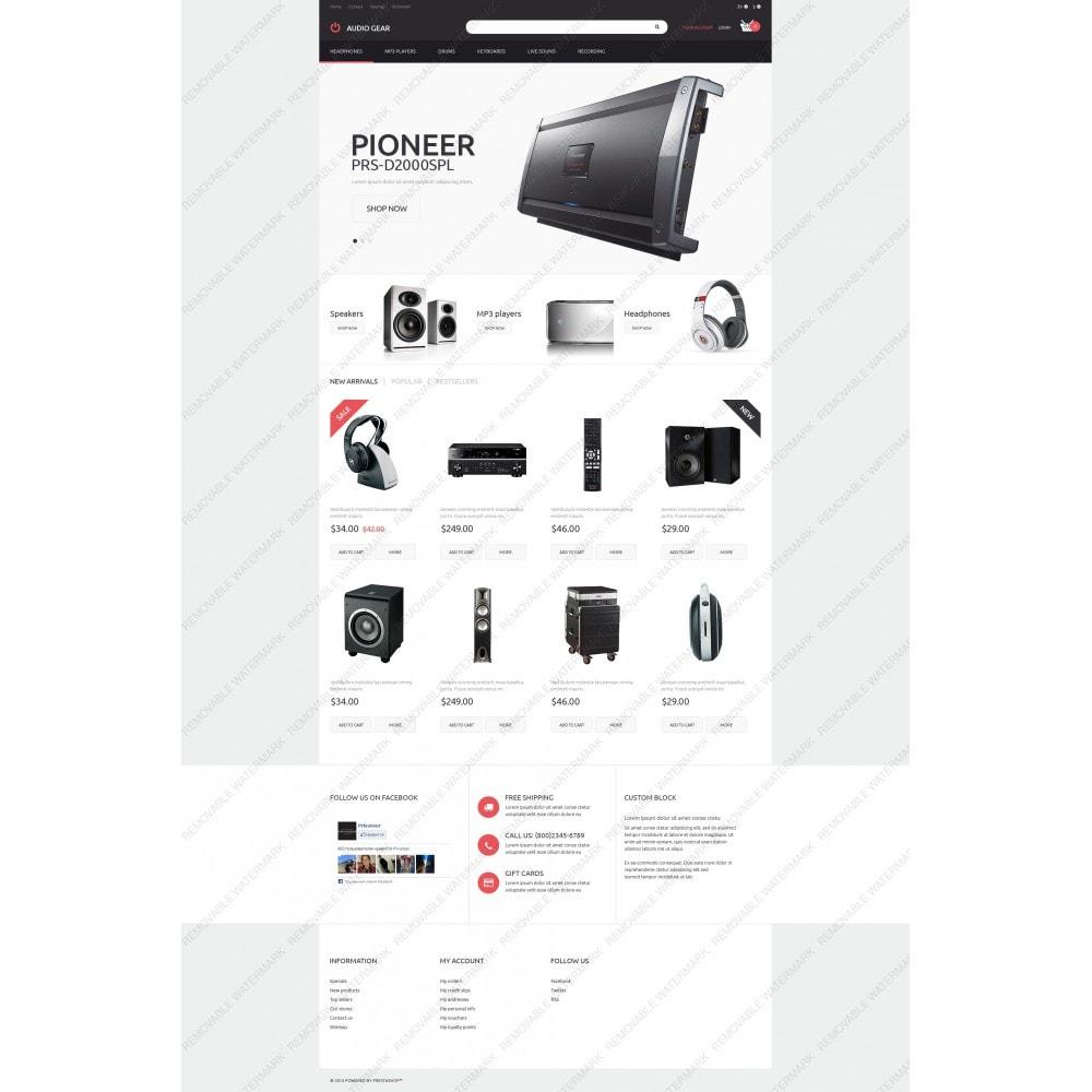 theme - Electronique & High Tech - Audiogear Shop - 5