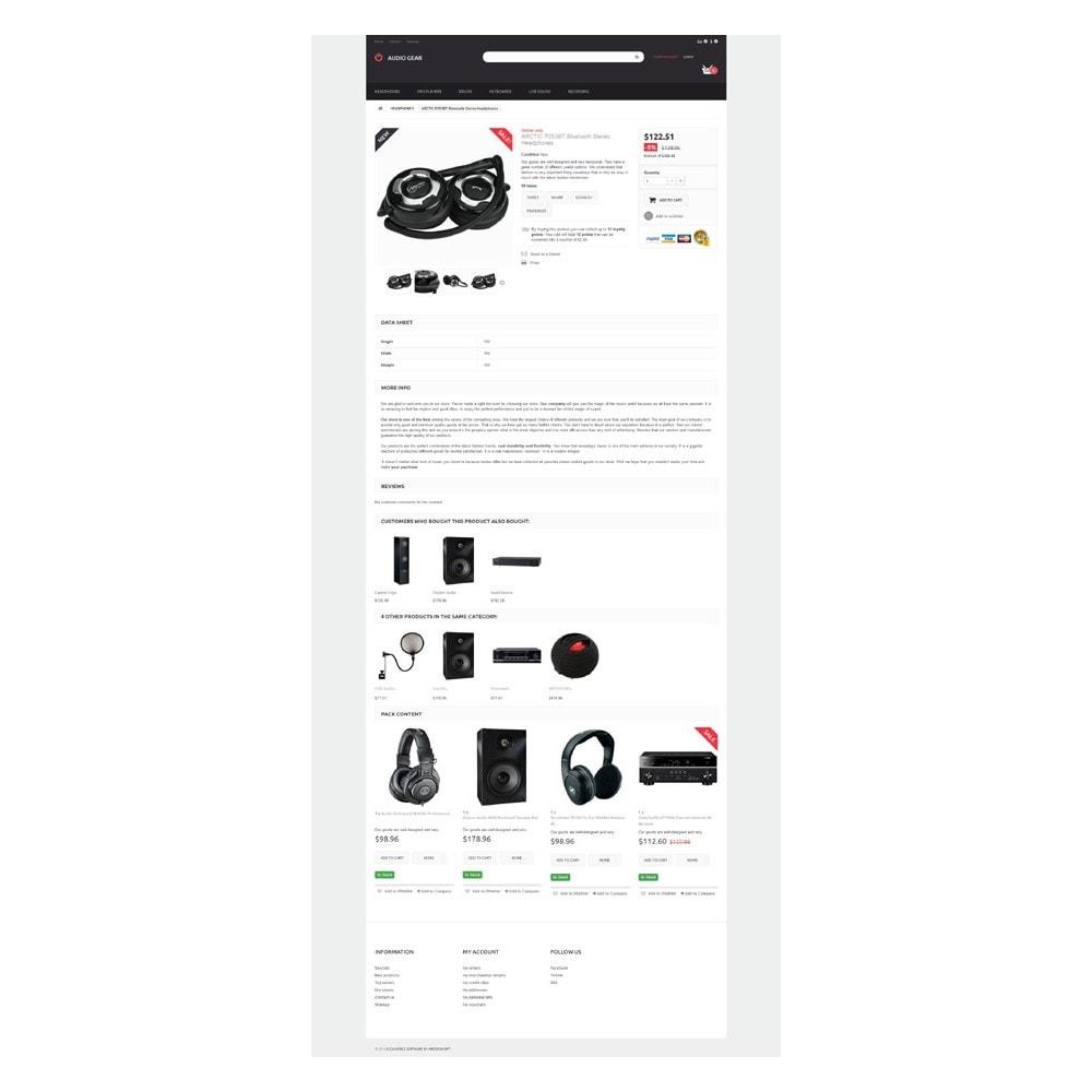 theme - Electronique & High Tech - Audiogear Shop - 6