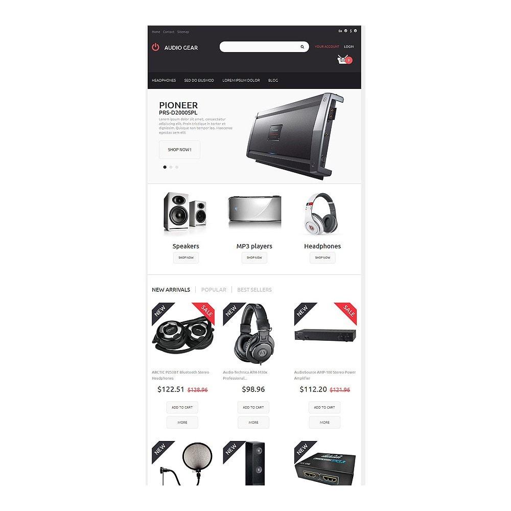 theme - Electronique & High Tech - Audiogear Shop - 7