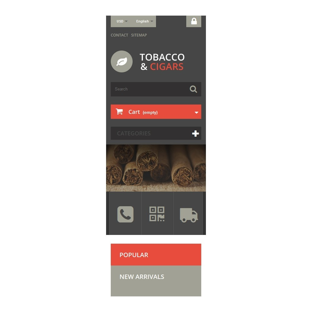theme - Home & Garden - Tobacco and Cigars - 9