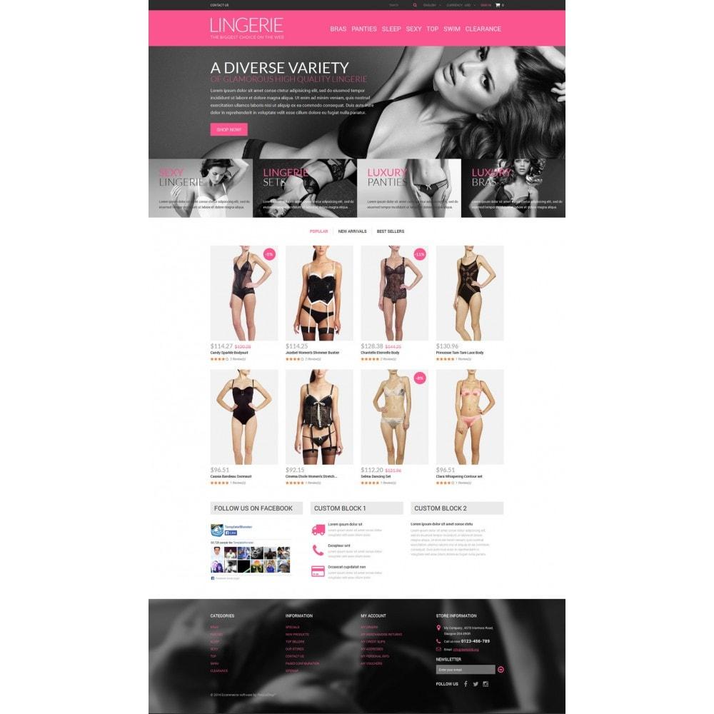 theme - Mode & Schoenen - Lingerie Shop - 2