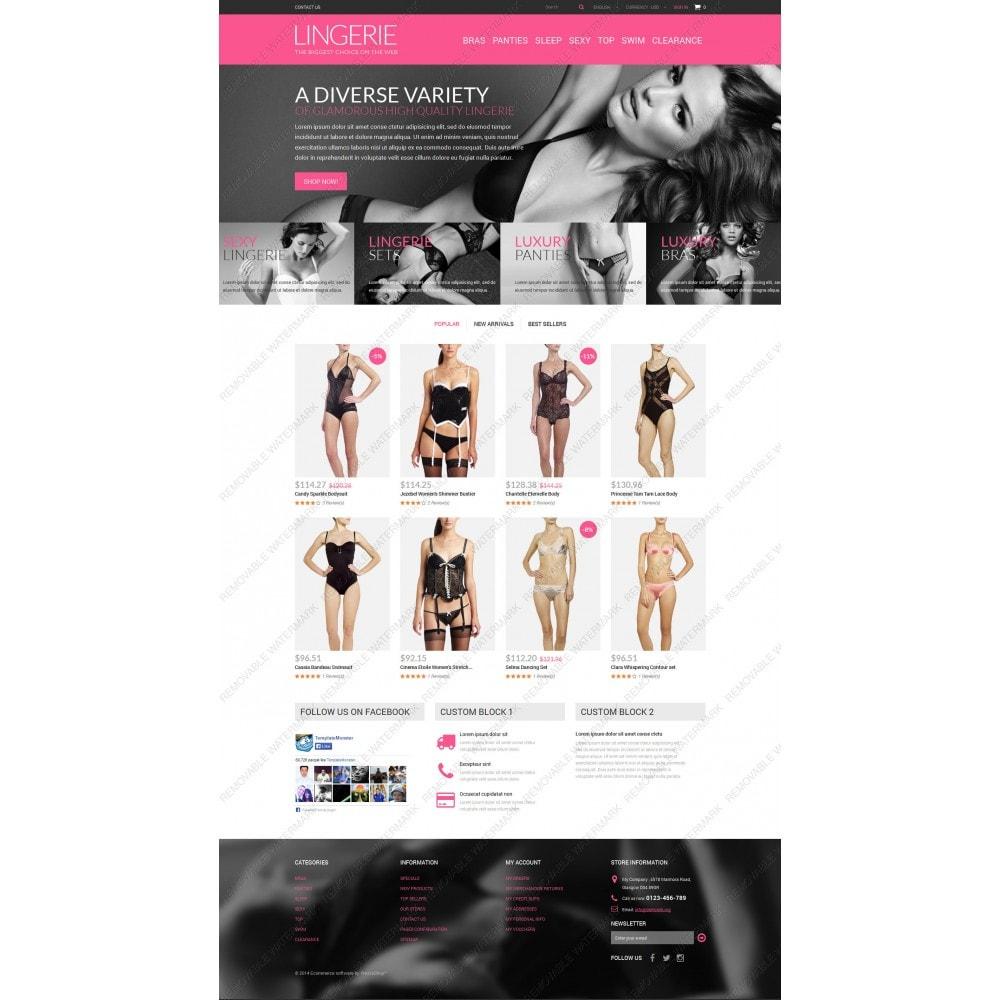 theme - Mode & Schoenen - Lingerie Shop - 3