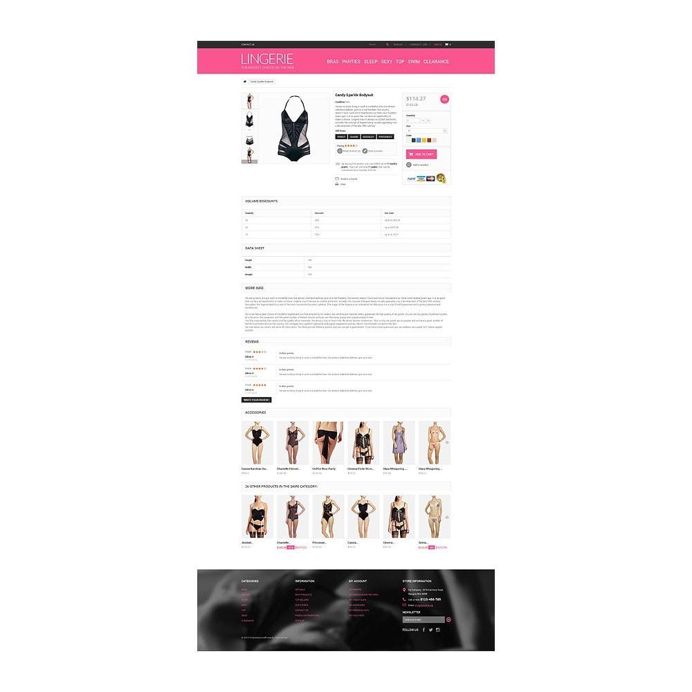 theme - Mode & Schoenen - Lingerie Shop - 6