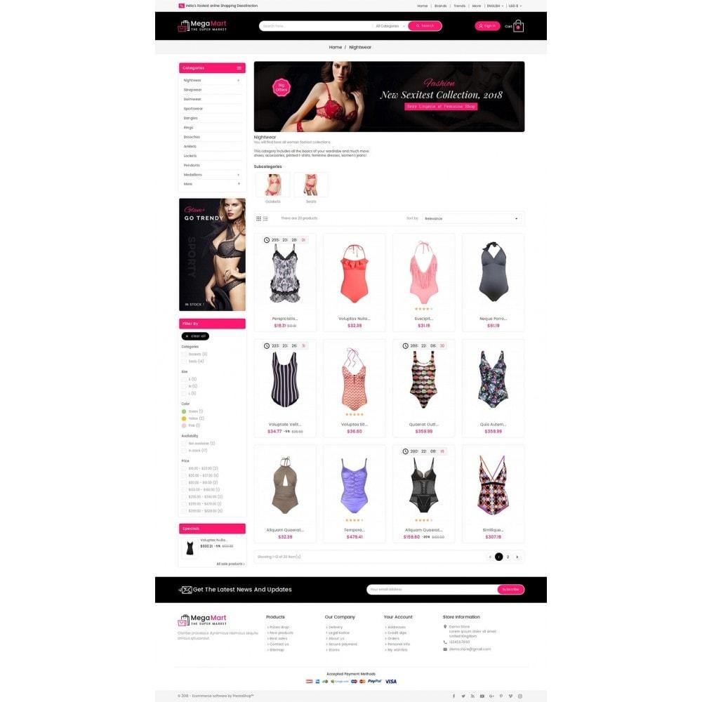 theme - Lingerie & Adulte - Mega Mart Sexy Lingerie - 4