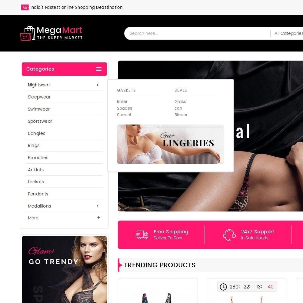 theme - Lingerie & Adulte - Mega Mart Sexy Lingerie - 10