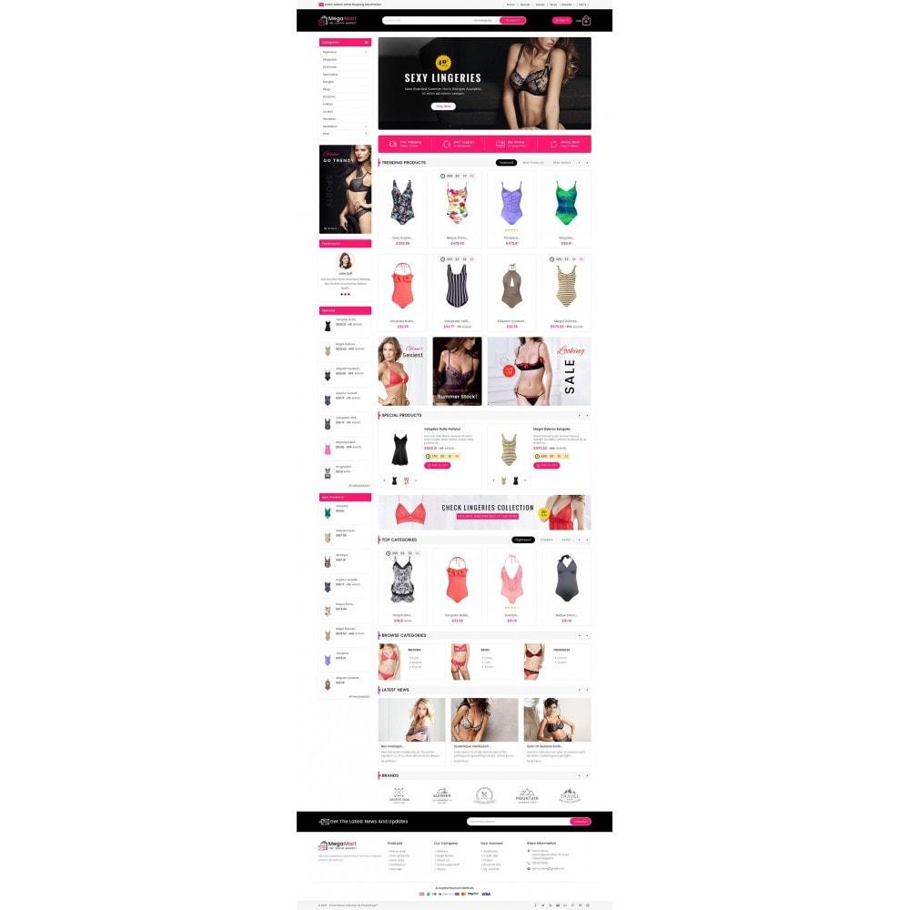 theme - Lingerie & Erwachsene - Mega Mart Sexy Lingerie - 3