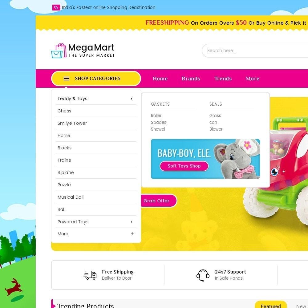 theme - Kinder & Spielzeug - Mega Mart Kids Toys - 10