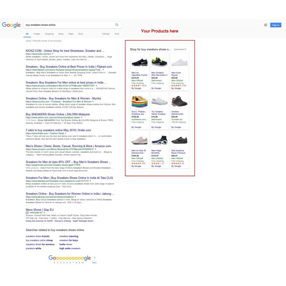 module - Comparadores de Precios - Google Shopping Feed in 3 min (Google Merchant Center) - 2