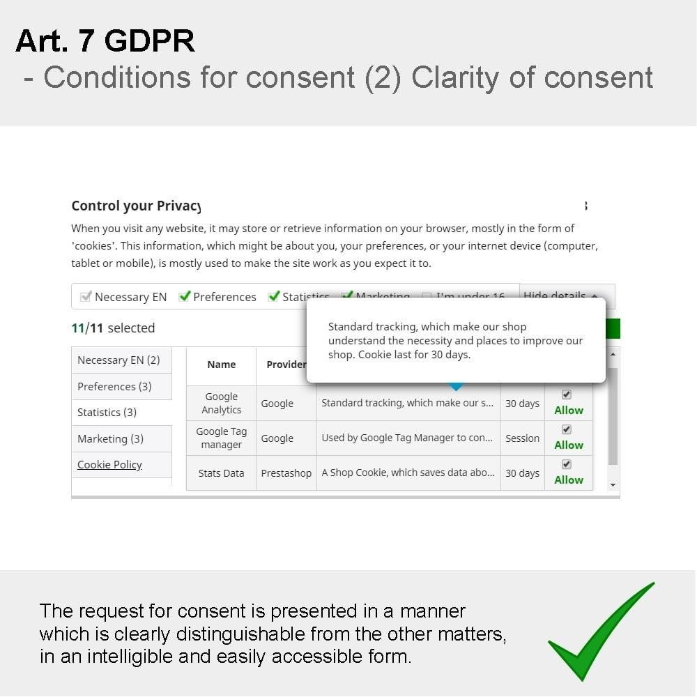 module - Rechtssicherheit - GDPR Compliance Pro - 4