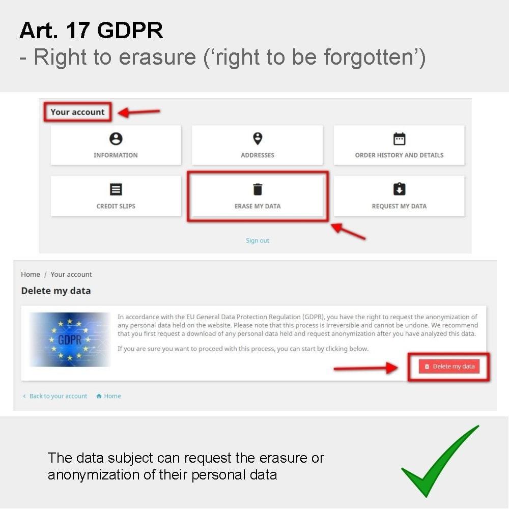 module - Rechtssicherheit - GDPR Compliance Pro - 8