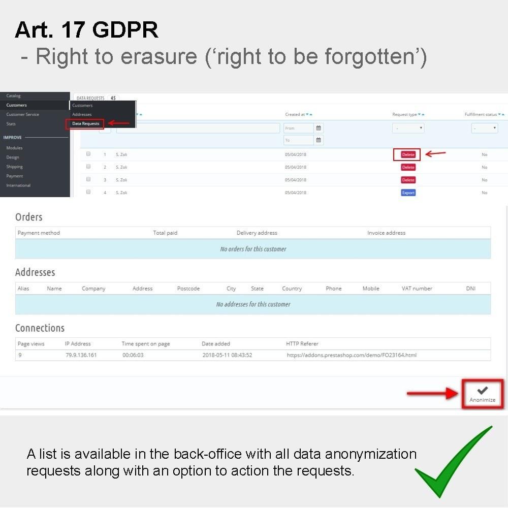 module - Juridisch - GDPR Compliance Pro - 2021 Enhanced Edition - 13