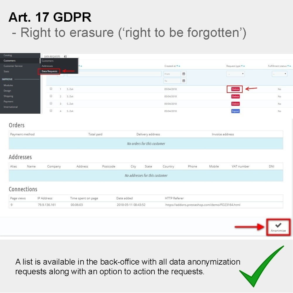 module - Rechtssicherheit - GDPR Compliance Pro - 9