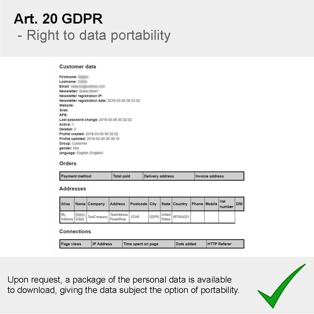 module - Juridisch - GDPR Compliance Pro - 2021 Enhanced Edition - 14