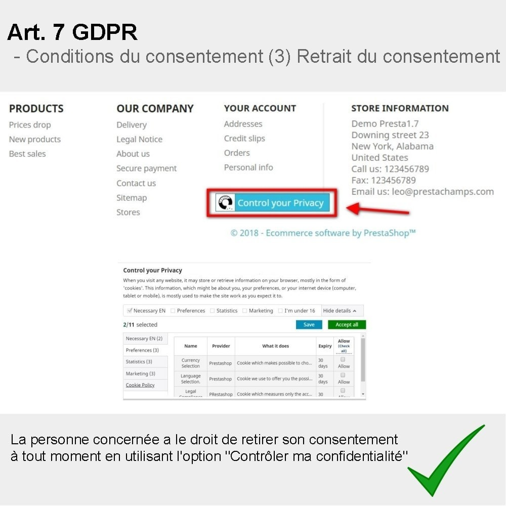 module - Législation - GDPR Compliance Pro - 3
