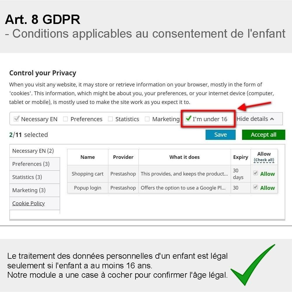 module - Législation - GDPR Compliance Pro - 2021 Édition améliorée - 4