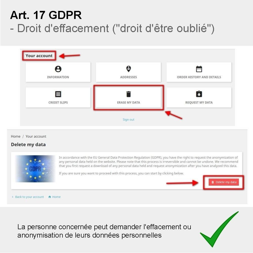 module - Législation - GDPR Compliance Pro - 6