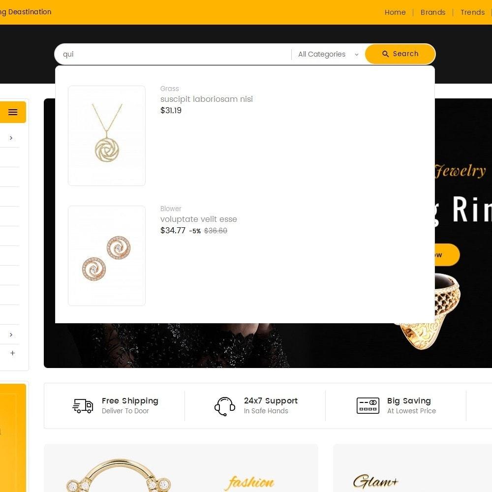 theme - Bellezza & Gioielli - Mega Mart Jewelry Imitation - 11