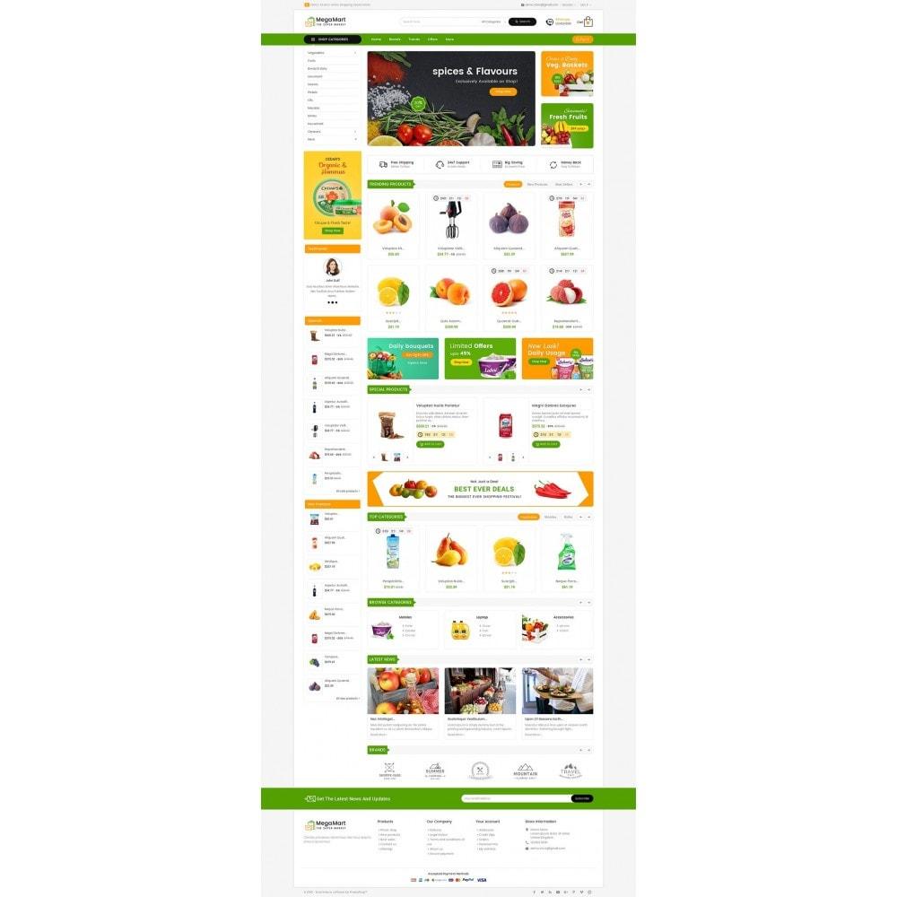 theme - Alimentation & Restauration - Mega Mart Grocery - 3