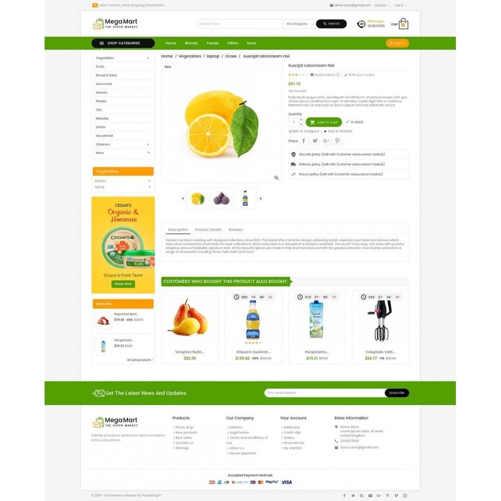 theme - Alimentation & Restauration - Mega Mart Grocery - 6